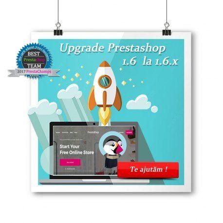 Pachet pentru actualizarea PrestaShop 1.6.x la PrestaShop 1.6.x ultima versiune