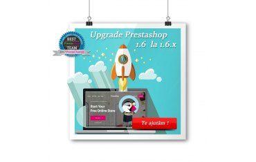 Pachet pentru actualizare PrestaShop 1.6.x la ultima versiune