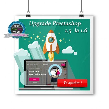 Pachet de actualizare de la PrestaShop 1.5 la PrestaShop 1.6.1.4