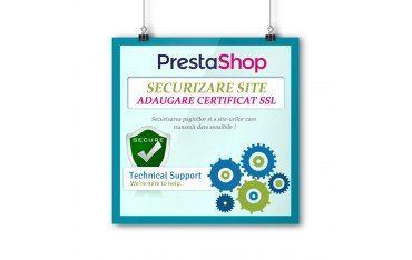 Activare HTTPS - Instalare certificat SSL