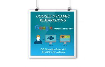 Setarea Google Dynamic remarketing