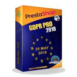 Modul PrestaShop GDPR