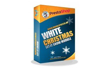 Modul PrestaShop White Christmas - Fulgi de Zapada