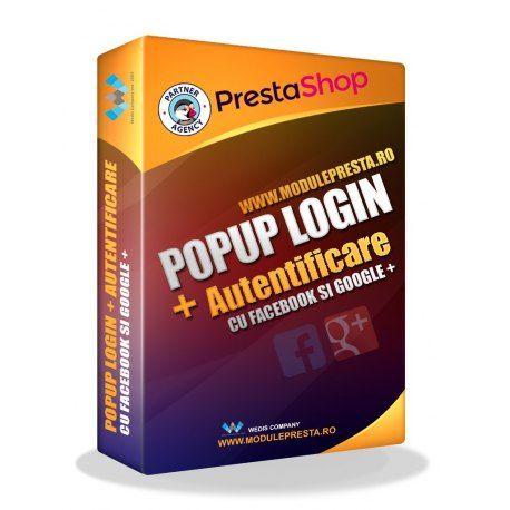 Modul PrestaShop Pop-up Login